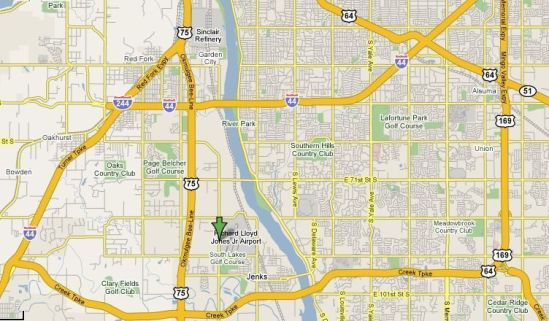 Driving Directions - Tulsa Airport